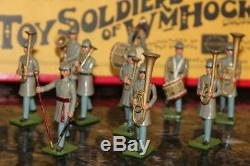 10pc Set William Hocker #347 Confederate Infantry Band Toy Soldier Civil War