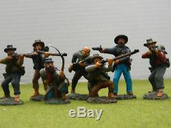 1/32 Scale / 54mm American CIVIL War Confederates Fully Painted Figures