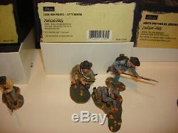 1/32nd scale Britians American Civil War Confederate Soldiers 3 Sets