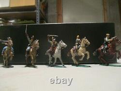 1/32nd scale plastic painted American Civil War Confederate Cavalry