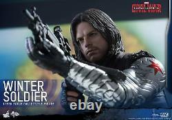 1/6 Hot Toys Mms351 Marvel Captain America CIVIL War Winter Soldier Movie Figure