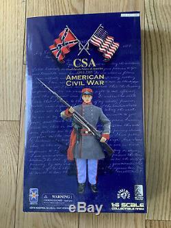 1/6 SCALE IGNITE CSA American Civil War Soldier 12 action figure NEW