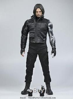 1/6 scale winter soldier figure Captain America Civil War hot figure toy USA