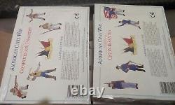 1/72 6 boxes of American Civil War Accurate, 50 figures, New and Sealed, RARE