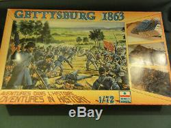 1/72 ESCI Civil War Battle Set GETTYSBURG Battle set