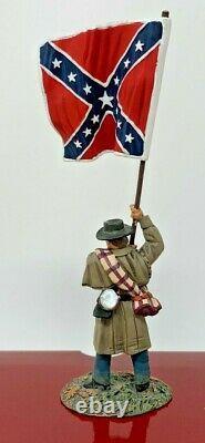 2012 Britain American Civil War Confederate Infantry Flagbearer #31165