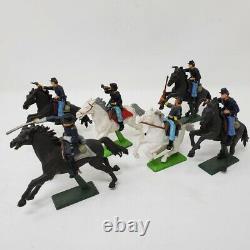 25 Britains LTD and Britians Deetail Union cavalry toy Civil War soldiers