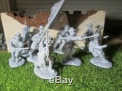 28 LOT Conte & Armies in Plastic Iron Brigade ATTACK Civil War54mmYankee