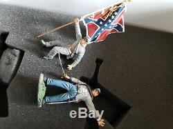 31224 W. Britain Civil War Passing the Colors Britains excellent boxed li
