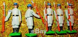 32 WARWICK Lead Civil War Figures North & South Generals, Canon, Soldiers ect
