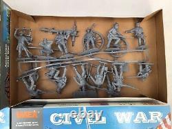 4 Sets IMEX 1/32 Scale Civil War Soldiers & Artillery Union & Confederate #200
