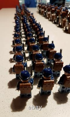 50Pcs American Civil War Army Union North South Soldiers Figures Lego Moc toys