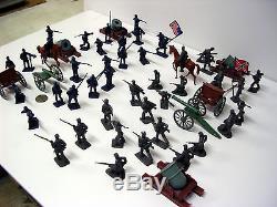 54 pieces Civil War Cannons & Mortars