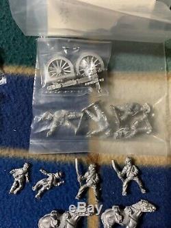 54mm 1/32 Metal 68 Acw CIVIL War Union & Confederate