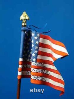 54mm UNION Civil War FLAG BEARER US CAVALRY SAINT PETERSBURG Russia Aeroart MIB