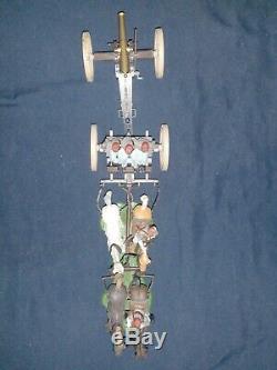 (5) 1970's BRITAINS SWOPPET, American CIVIL WAR GUN TEAM & LIMBER sets