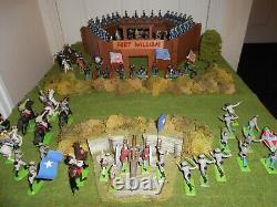 A200 Britains Deetail & Ltd & Timpo U. S. CIVIL War Fort & Troops