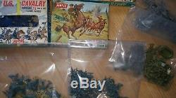 AIRFIX HO OO Toy Soldiers BRITISH INFANTRY U. S. CIVIL WAR / CAVALRY etc 10 boxes