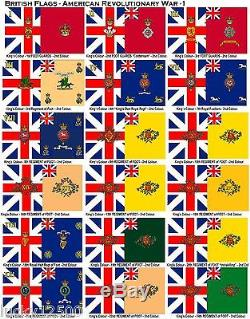 American Revolution Or Civil War Flags 5 Flags Your Choice