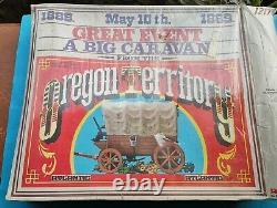 ATLANTIC 1/32 Far west OREGON TERRITORY 1869 + American Civil War Guns rare
