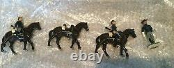 Alymer toy soldiers Civil War AB-22 Union Cavalry Mounted at the Walk