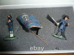 American CIVIL War #17570 Iron Brigade Command Set Toy Soldier