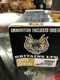 American Civil War 12 Pounder and Gun Crew by Britains Ltd 4465 BOXED