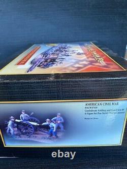American Civil War Conte Collectibles #57119 Confederate Artillery and Gun Crew