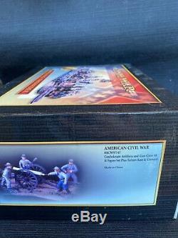 American Civil War Conte Collectibles #57147 Confederate Artillery and Gun Crew