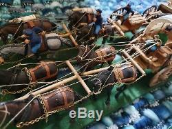 American Civil War Hand Made Diorama 1/32 Scale Battle Scenes Union