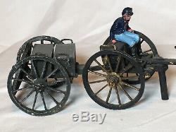 American Civil War Union Artillery Caisson and Limber Set
