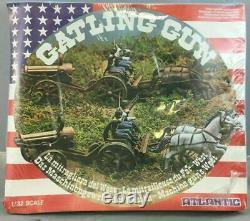 Atlantic 1/32 American Civil War Gatling Gun + Guns Machine gun + Cannons