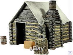 B51039 W. Britain American Civil War Winter Hut 1 4 Piece Set Tactical Scenes