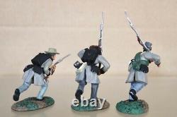 BRITAINS 17104 AMERICAN CIVIL WAR LONE STAR CONFEDERATE ADD ON SET nv
