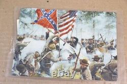 BRITAINS 17301 AMERICAN CIVIL WAR CLUBS are TRUMPS 14th MASSECHUSETTS SET nv