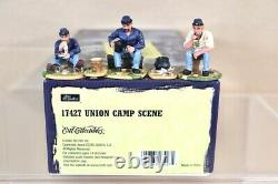 BRITAINS 17427 AMERICAN CIVIL WAR UNION CAMP SCENE SET MINT BOXED nv