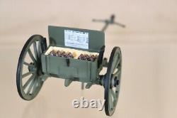 BRITAINS 17431 AMERICAN CIVIL WAR UNION CANNON AMMUNITION LUMBER SET BOXED nv