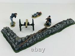 BRITAINS 17532 AMERICAN CIVIL WAR UNION CANNON FIRE at the ANGLE SET/INCOMPLETE