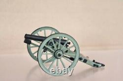 BRITAINS 17532 AMERICAN CIVIL WAR UNION CANNON FIRE at the ANGLE SET nv