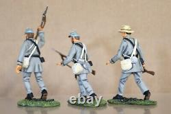 BRITAINS 17576 AMERICAN CIVIL WAR CONFEDERATE DESPERATE VALOUR SET 2 BOXED nv