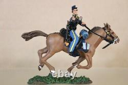 BRITAINS 31018 AMERICAN CIVIL WAR UNION MOUNTED CAVALRY TROOPER with PISTOL nv