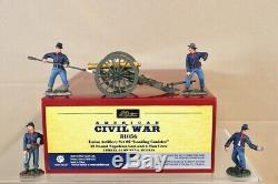 BRITAINS 31056 AMERICAN CIVIL WAR UNION ARTILLERY SET 2 LOADING CANISTER nv