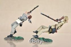 BRITAINS 31199 AMERICAN CIVIL WAR HELL for GLORY GETTYSBURG PICKETT'S CHARGE nv