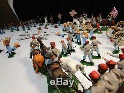 BRITAINS SWOPPETS Ltd Civil War Set 58 Pieces Total