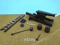 Barzso 54mm Civil war Union artillery platform Rodman gun foam18 pcs 2006 PREoop