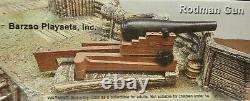 Barzso 54mm Civil war artillery Rodman gun some assembly resin 2006 MIB oop
