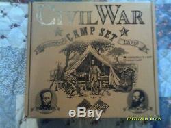 Barzso CIVIL War Confederate Camp Playset