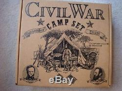 Barzso Civil War Camp Play Set / Complete in Excellent Condition