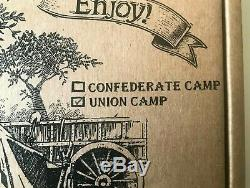 Barzso UNION CIVIL WAR CAMP PLAY SET MIB HARD-TO-FIND! Long Out Of Production