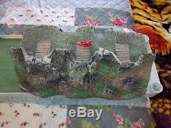 Barzso civil war fort pieces 54mm 1 large rampart. Last one